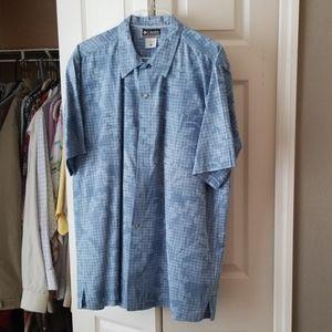 Columbia brand new mens short sleeve shirt